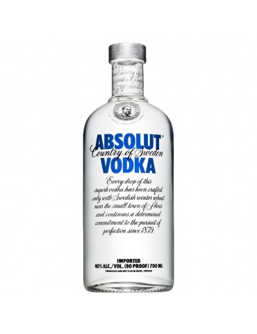 Vodka Absolut Blu - 0,70 lt.