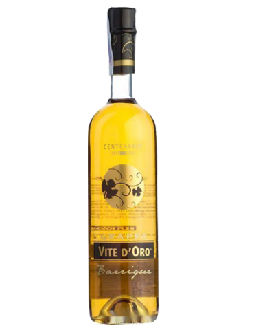 Grappa Tosolini Vite d'Oro Barrique - 0,70 lt.