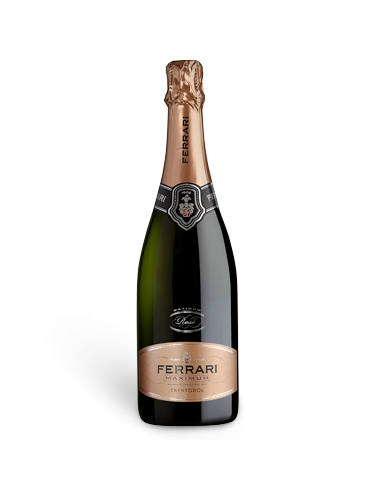 Ferrari Maximum Brut Rosè - 0,75 lt.