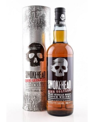Smokehead Single Malt High Voltage - 0,70 lt.