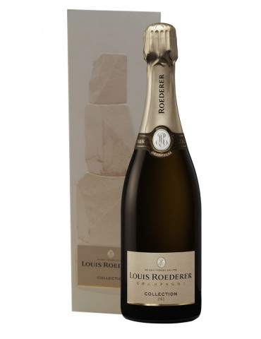 Champagne Louis Roederer Collection 242 - 2017 - 0,75 lt.