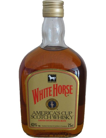 Whisky White Horse America's Cup Limited Edition - 0,75 lt.