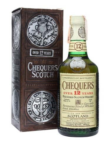 Whisky Chequers 12 Anni Blended - 0,75 lt.