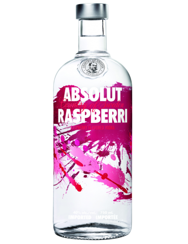 Vodka Absolut Raspberri - 1,00 lt.